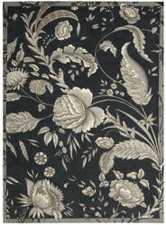 Nourison Waverly Artisanal Delight Wad07 Noir Area Rug