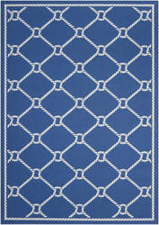 Nourison Wav01 Sun And Shade Snd41 Navy Area Rug