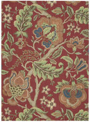 Nourison Waverly Global Awakening Wga01 Garnet Area Rug