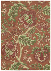 Nourison Waverly Global Awakening Wga01 Spice Area Rug