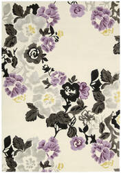 Nourison Wildflowers Wil03 Ivory Area Rug