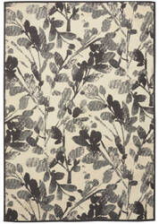Nourison Vintage Lux Wjc02 Graphite Area Rug