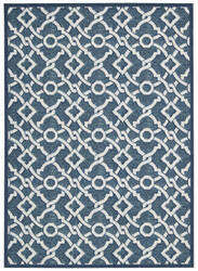 Nourison Wav16 Treasures Wtr01 Bluejay Area Rug