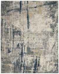 Nourison Artworks Atw05 Ivory - Navy Area Rug