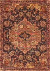 Nourison Vintage Tradition Vgt01 Ember Red Area Rug