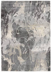 Nourison Fusion Fss16 Beige - Grey Area Rug