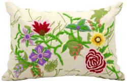 Nourison Pillows Life Styles Z5931 Ivory