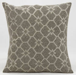 Nourison Pillows Luminescence Z9915 Silver Grey