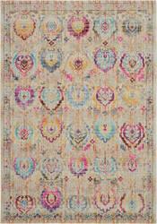 Nourison Vintage Kashan Vka04 Ivory - Multicolor Area Rug