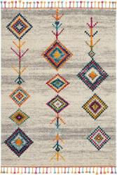 Nourison Moroccan Casbah Mcb04 Cream - Grey Area Rug