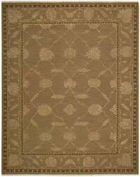 Nourison Silk Pointe SKP-1 Brown Area Rug