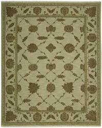 Nourison Silk Pointe SKP-1 Green Area Rug
