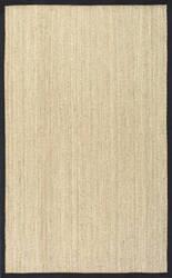 Nuloom Elijah Seagrass Black Area Rug