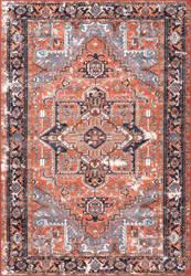 Nuloom Persian Dar Rust Area Rug
