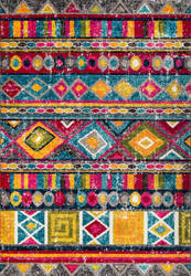 Nuloom Nettles Retro Tribal Multi Area Rug