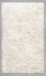 Nuloom Moroccan Shearer Ivory Area Rug