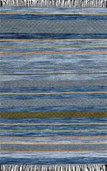 Nuloom Ninonne Stripes Blue Area Rug