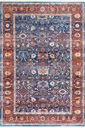 Nuloom Vintage Audria Blue Area Rug