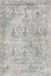 Nuloom Vintage Scarlett Light Blue Area Rug