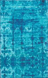 Nuloom Vintage Lindgren Blue Area Rug
