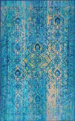 Nuloom Vintage Enedina Blue Area Rug