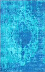 Nuloom Vintage Maxima Blue Area Rug