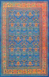 Nuloom Vintage Oden Blue Area Rug