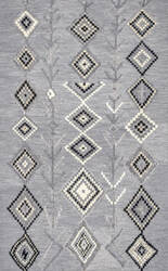 Famous Maker Hand Tufted Belini Dark Gray Area Rug