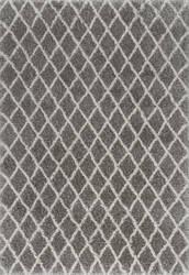 Nuloom Lenita Trellis Dark Grey Area Rug