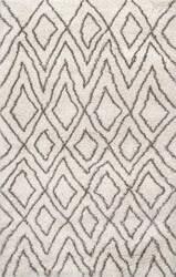 Nuloom Willette Diamond Ivory Area Rug