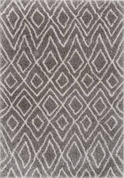 Nuloom Willette Diamond Dark Grey Area Rug