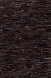 Nuloom Linares Abstract Dark Brown Area Rug