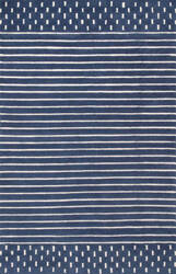 Nuloom Marlowe Stripes Navy Area Rug