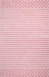 Nuloom Marlowe Stripes Pink Area Rug