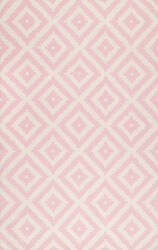 Famous Maker Hand Tufted Kellee Light Pink Area Rug