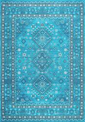 Nuloom Daenerys Persian Blue Area Rug