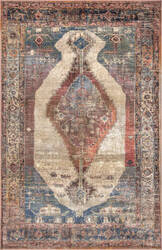 Famous Maker Traditional Vickie Orange Area Rug