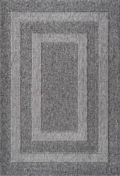 Nuloom Mosby Border Dark Grey Area Rug