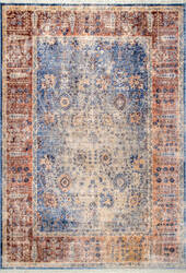 Famous Maker Vintage April Blue Area Rug