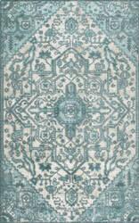 Nuloom Vintage Gwyneth Light Blue Area Rug