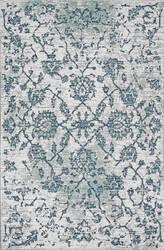 Nuloom Vintage Floral Hawthorne Grey Area Rug