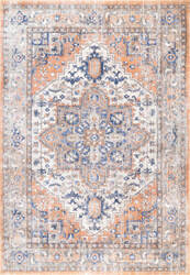 Famous Maker Vintage Jaclyn Orange Area Rug