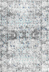 Nuloom Vintage Faded Kearney Blue Area Rug