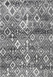 Nuloom Vintage Moroccan Varela Dark Grey Area Rug
