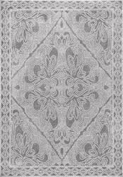 Nuloom Vintage Twila Grey Area Rug