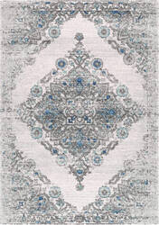 Nuloom Gothic Mahalia Light Blue Area Rug