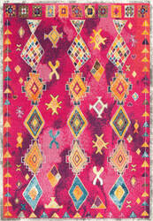 Nuloom Vintage Bright Purple Area Rug