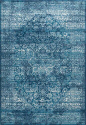 Nuloom Vintage Medallion Enddy Blue Area Rug