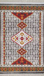 Nuloom Tribal Laurena Grey Area Rug