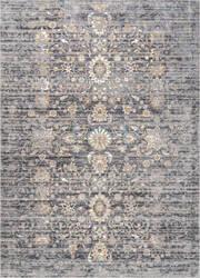Nuloom Vintage Floral Deirdre Grey Area Rug